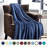 BEDSURE More than comfort Weiche Kuscheldecke für Kinder Blau Navy - Hochwertige Flauschige Microfaser Fleecedecke für Sofa & Couch 130x150cm - Warme Wohndecke/Sofadecke/Reisedecke von Bedsure