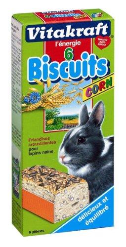 Vitakraft - 25366 - Biscuits Corn - Lapins Nains P/6