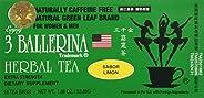 3 BALLERINA TEA DIETERS DRINK EXTRA STRENGH LEMON FLAVOR 3 boxes