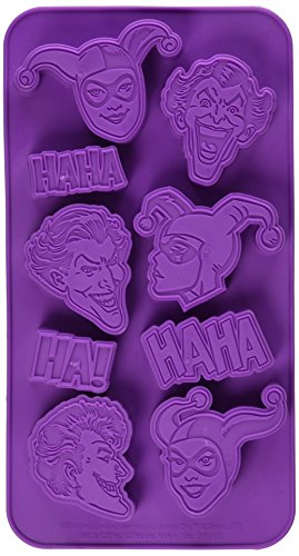 DC Comics The Joker & Harley Quinn Ice Cube Tray (Quinn Joker Harley)
