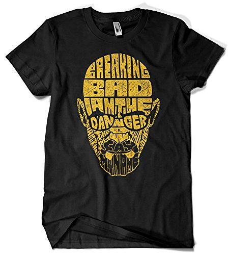 113-Camiseta Softstyle, Breaking Bad V2 (Negra, L.)