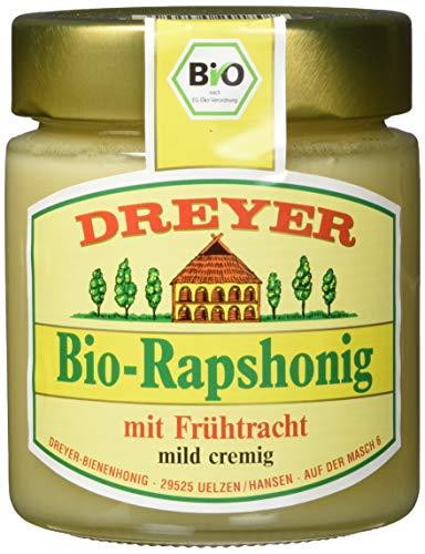 Dreyer Bio-Rapshonig, 5er Pack (5 x 500 g) (Bio-bienenhonig)