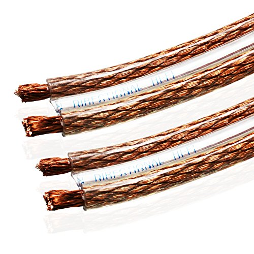 Van Damme 2 x 6 mm Shotgun Style Twin Interconnect Lautsprecherkabel 268-506-000 25 Meter / 25M 25 - Video Interconnect