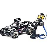 W-star RC ferngesteuertes Auto, mit Kamera 480P FPV WiFi Fahrzeug 2.4 Ghz 1:16 Wasserdicht Spielzeug mit High Speed,Outdoor und Indoor Draußen Spiel für Erwachsene und Kinder