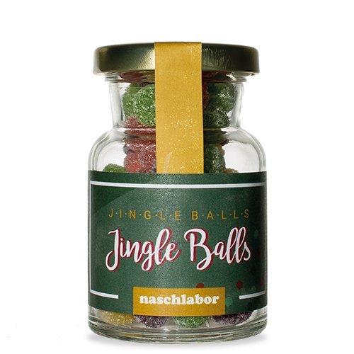 Jingle Balls Fruchtgummi-Mischung von Naschlabor - Der Ohrwurm zum Naschen für die Weihnachtszeit