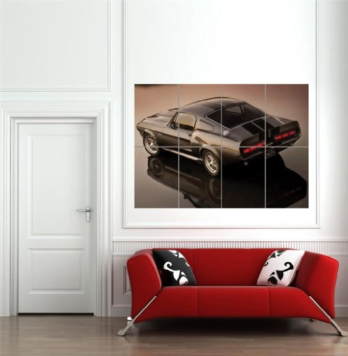 eleanor-1967-ford-mustang-shelby-gt500-giant-poster-affiche-art-print-b1240