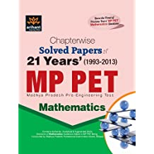 Chapterwise 21 Years' Solved Papers MP PET MATHEMATICS