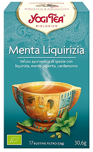 Yogi Tea Menta Liquirizia - 30.6 gr