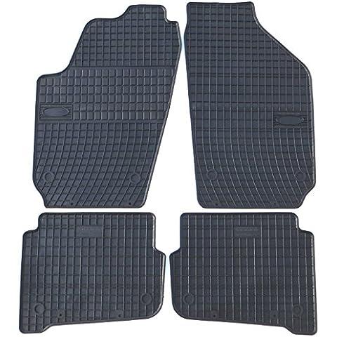 TN-vestibilità tappetini professionale per VW Fox anno di fabbricazione 2002–2008Premium tappetini in gomma Original - Vw Fox