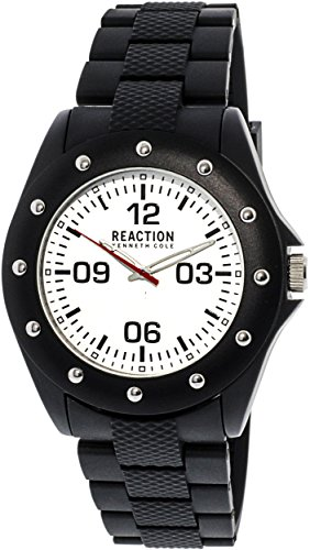 Kenneth Cole 10031714 Black Rubber Quartz Fashion Watch