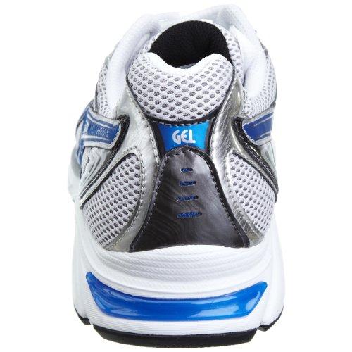 Asics , Running - Contrôle des mouvement homme Blanc - White/classic Blue/silver