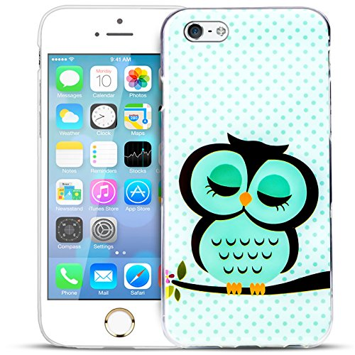 iPhone SE, 5S, 5 Bilder Case, Conie Mobile Motiv Hülle Backcover Rückschale, Silikon TPU Schutzhülle Motiv 9