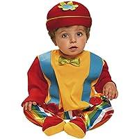 My Other Me - Disfraz de bebé payaso, 1-2 años (Viving Costumes 203275)