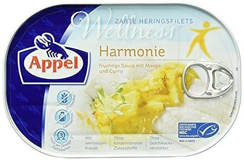 Appel Heringsfilets Wellness Harmonie, Gluten- und Laktosefrei, MSC zertifiziert, 10er Pack (10 x 200 (Gluten Laktosefrei)