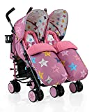 Best Double Strollers - Cosatto Supa Dupa Double Stroller, Happy Stars Review