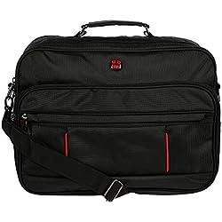 Christian Wippermann Hochwertige Flugbegleiter Arbeitstasche Herrentasche Bordcase Trolley im Hoch oder Querformat (Nylon Querformat)