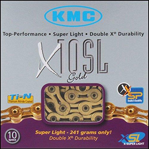 Fahrradkette KMC X-10 SL 112 gold