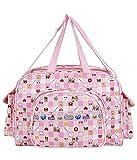 Best Large Diaper Bag - Littly Designer Multipurpose Diaper Bag/Mother Bag (Large), Pink Review