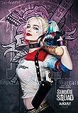 "poster film ""Suicide Squad Harley Quinn (2016, David Ayer, Margot Robbie come Harley Quinn, David Harbour, Jared Leto come Joker, Cara Delevingne, Scott Eastwood, Ben Affleck, Will Smith), Carta, A2"