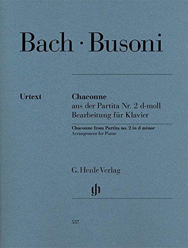 Chaconne (Extraite de la Partita No2 BWV 1004 en ré mineur pour violon solo de Jean-Sébastien Bach) --- Piano