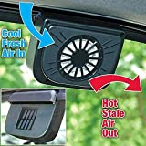 Almand premium Solar Powered Exhaust System Auto Cool Car Ventilation Fan System (Keep your car cool in Parking hours) M -110