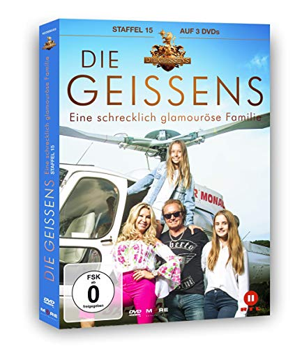 Die Geissens - Eine schrecklich glamouröse Familie: Staffel 15 (3 DVDs)
