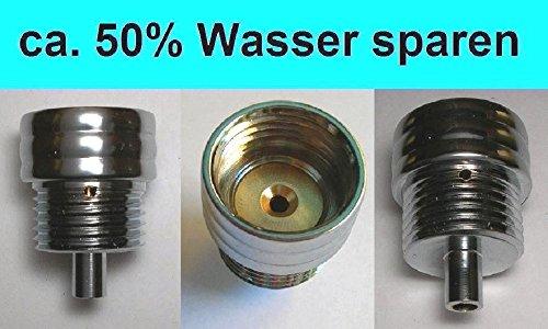 Design Wassersparer für Handbrause / Kopfbrause / Armatur / DuschAirator -