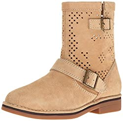 Hush Puppies Women s Aydin Catelyn Perf Boot Light Tan Suede 5. 5 B(M) US