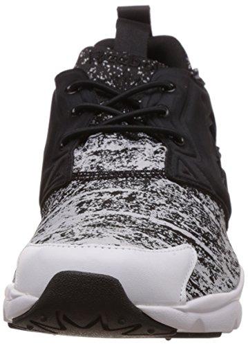 Reebok Furylite Jf, Baskets Basses Homme Multicolore - Mehrfarbig (Black/White)