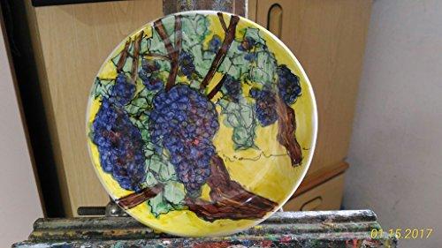 uva-piatto-di-ceramica-decorata-a-mano-dimensioni-cm-15-diametromade-in-italy-toscana-lucca