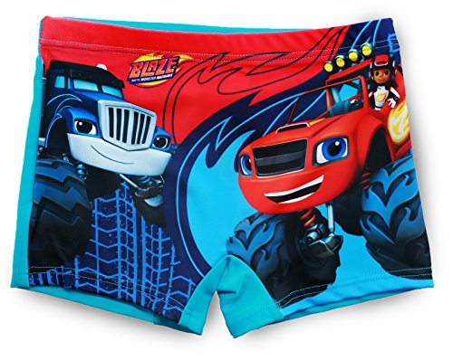 Blaze and the monster machines -  pantaloncini - ragazzo aqua 6 anni
