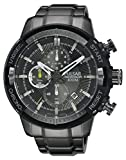 Pulsar Herren-Armbanduhr Chronograph Quarz Edelstahl PM3049X1