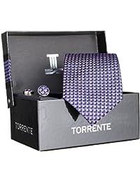 Torrente - Cravate Coffret Cofc20 Marine/rose