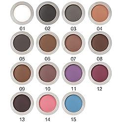9th Avenue 5: Pro 1pcs Women Makeup Eyeshadow Matte Eye Shadow Palette Powder Cosmetic Tool 15 Colors