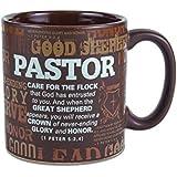 Lighthouse Christian Products Pastor and Shepherd Ministry Appreciation Ceramic Mug, 16 oz