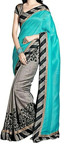 Macube Women'S Bhagalpuri Silk Saree With Blouse Piece(Ms95_25_Multicolor_Free Size)