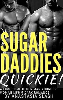 Sugar Daddies Quickie: A First Time Older Man Younger Woman MFMM Dark Romance by [Slash, Anastasia]