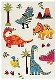 Viva Teppiche Dino Premium, Material Kunststoff, mehrfarbig, 100x 150x 1.3cm