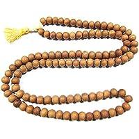 Mogul Interior Healing Meditation Mala Beads- Bodhi Seed Beads Buddhist Prayer Spiritual Necklace Gift Idea