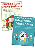 2 Legitimate Work at from Home Jobs/BusinessHow to Start Your First Online Business and Make a Full-Time Income from Home!What you'll discover in this bundle:ONLINE GARAGE SALE* The entire process of selling garage items online * How to choose the pr...