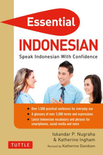 Essential Indonesian Phrasebook and Dictionary: Speak Indonesian with Confidence! (Revised and Expanded) (Essential Phrasebook & Disctionary Series) (English Edition) por Iskandar Nugraha