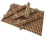 Fuluxor – Platzset aus Bambus – Set von 6