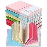 Shulaner Mini Taccuino Diario Settimanale Agenda Pianificatore Notebook Simpatico Mini journal Set of 6