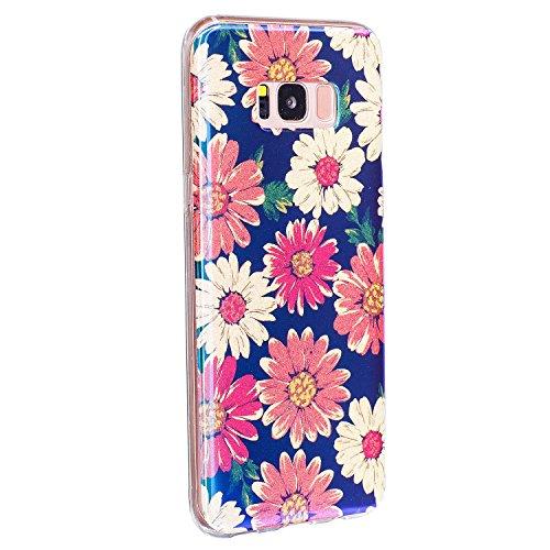 Für Samsung Galaxy S8 Plus Case, Ultra Thin Leichtgewicht Luxus Blue Light Soft TPU Silikon Gel Schutzmaßnahmen zurück Deckung ( Color : J ) E