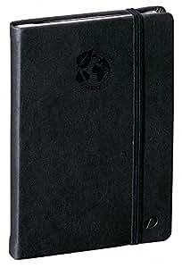 QUO VADIS - Carnet de notes Emboîté Equology, 10x15cm, papier 100% recyclé, ligné, 192p, couleur noire