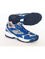 Kookaburra icono (azul) Hockey–Zapatos Reino Unido tamaño 12/EU 46