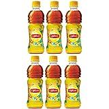 Lipton Ice Tea, Peach, 350ml Each (Pack of 6)