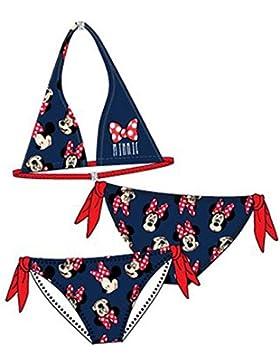 Disney Minnie Maus Bikini in Weiss oder Blau Gr. 138, 150, 156