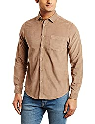 blackberrys Mens Casual Shirt (8907196765077_BT-SOFU02_40_Beige)