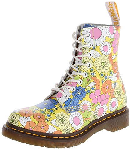 Dr. Martens PASCAL Vintage Daisy YELLOW, Damen Stiefel, Gelb (Yellow), 39 EU...